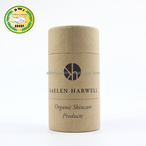 Kraft cylinder hard cardboard packing tubes for e bottles