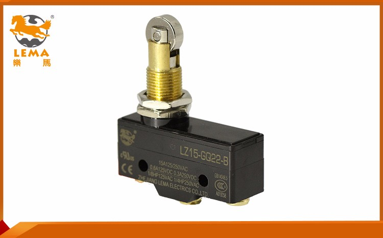 LZ15-GQ22-B mechanical subminiature solder terminal 5e4 25t85 micro switch/sensitive micro switches