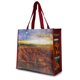 100% recycled laminate custom printed non woven wine bottle rpet bag