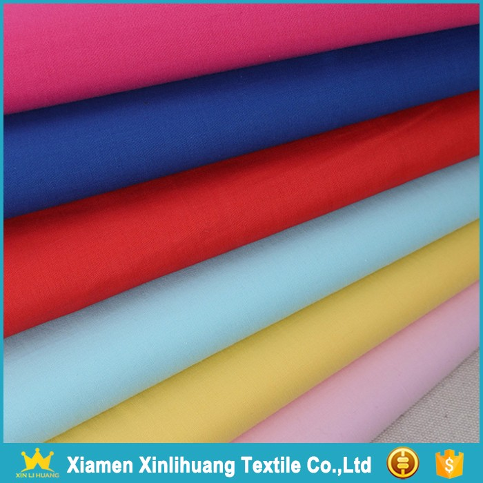 Wholesale Soft Lightweight Combed Yarn Plain 100% Cotton Voile Fabric