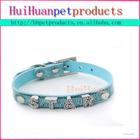 Discount DIY dog collars with specialized letter