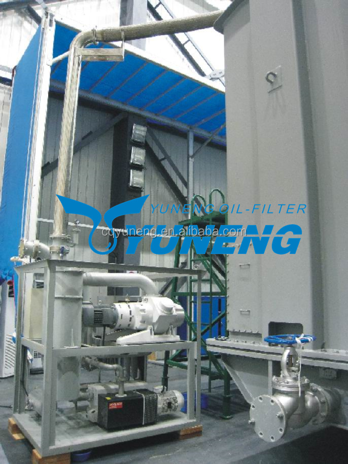 Two stage vacuum pumping equipment for power transformer vacuum drying
