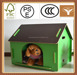 cheap 2016 popular fashionable wooden dog kennel house cage