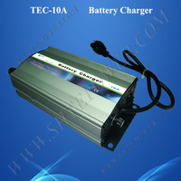 Automatic Three Stage Charge Mode Lead Acid Car Battery Charger AC 110V to DC 12V 10A