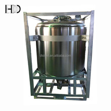 1000L Olive Oil Storage Container Stainless Steel Container with Heating system