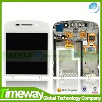 China factory price 100% natural lcd assembly for blackberry q10