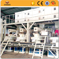 [ROTEX MASTER] High processing power and durability mobile used wood pellet machines made in China