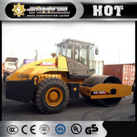 China XCMG XS162 road roller capacity 16ton sticky roller