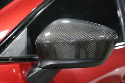 CARBON FIBER SIDE MIRROR COVER FOR MAZDA CX5 2012 CAR SIDE VIEW MIRROR COVER