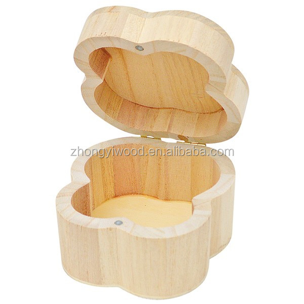 2016 custom design high quality finished small wooden jewelry box wholesale
