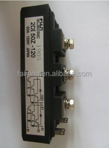 IGBT Power Module 2DI50Z-120 FUSE CARRIER A4 WHITE Fuse size Code Current rating 100A