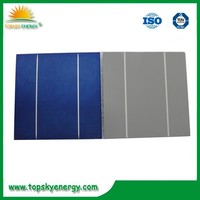 "Good price 6"" 2BB/3BB poly solar cell with good quality"