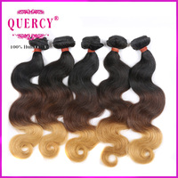 22inch cuticle double drawn remy human hair extensions hand-tied hair weft
