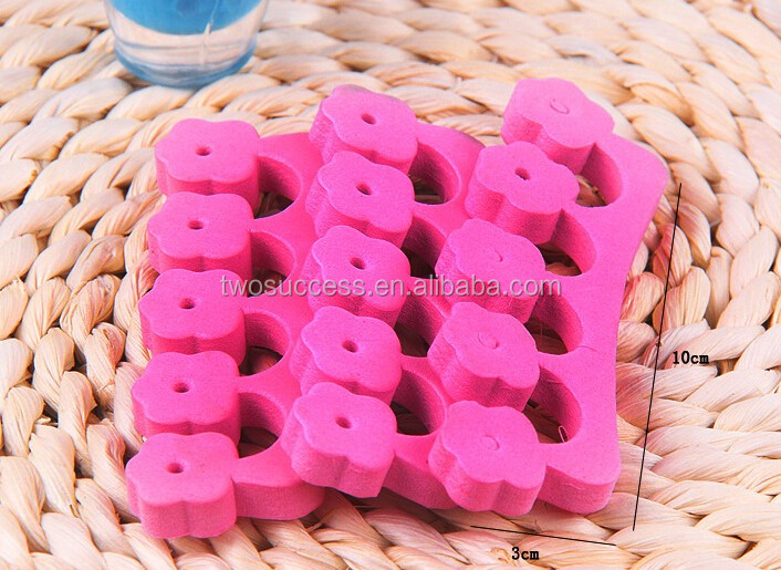 Red Disposable EVA toe separator