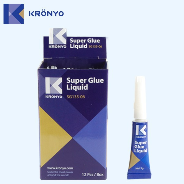 KRONYO v11 glue plastic 502 glue remove 10
