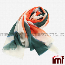 Womens Spring Silk Cashmere Handmade Printing Fashion Scarves Wraps and Shawls for Gifts
