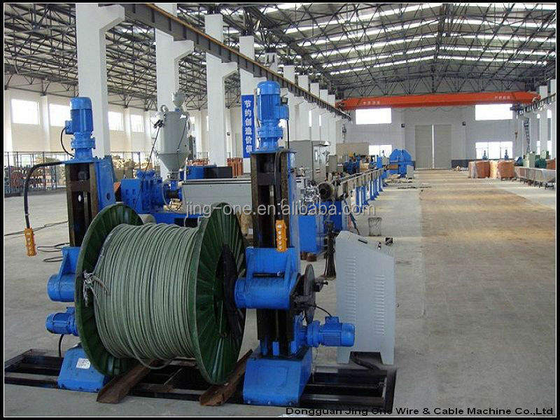 cable making machine pvc wire and cable extrusion machines