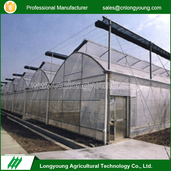 2017 High quality hydroponics saw-tooth commercial greenhouse for sale