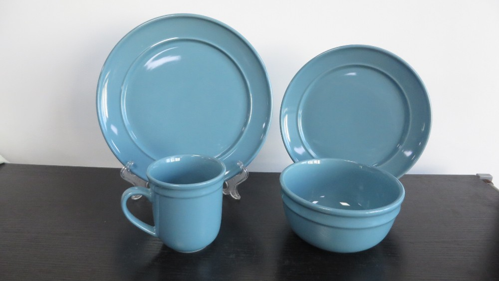 Discount coming Stocked walmart ABC grade 16pieces dinnerware sets to mideast