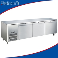 HN25/Factory price Commerical under counter refrigerator
