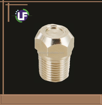 1/8''PT Nickel Coating Brass Fogging Nozzle