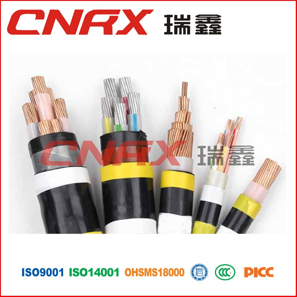 Made in China Ruixin Group 0.6/1kv PVC Insulated electrical copper coaxial prysmian cables