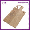 Factory direct custom logos finger joint wood board food menu