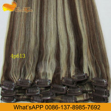 Eseewigs 7pcs Clip in Full Head 100 Real Human Hair Extensions All Color 18 Factory Direct Sell