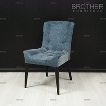 Chair furniture manufacturer living room antique wooden blue velvet dining chairs