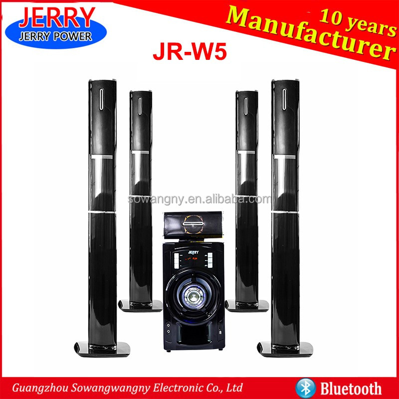 Best selling Asia new model bluetooth speakers 2.1 to 5.1 wireless home theater system