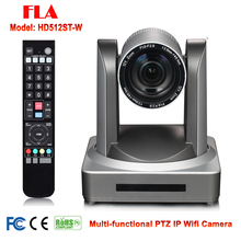 Wireless 12x Optical Zoom 2MP 1080P Live Stream Web Conferencing PTZ Camera WIFI