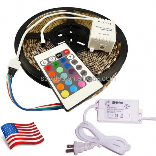 0.24W/lamp 5m/reel 16.4ft Manufacturer Good price 12v led striplights