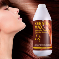 Professional hair softening treatment brazilian keratin straightening