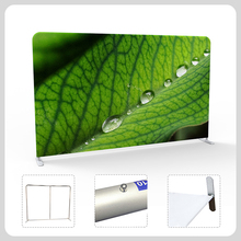 China supplier straight fast install tension fabric display exhibition wall banner