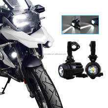 New Led Motor Motorcycle Fog Universal Motorcycle LED Auxiliary Fog Light Assemblie Driving Lamp 40W Headlight
