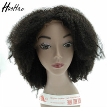 Top Grade High Feedback Lace Front Cuticle Aligned Curly Twist Afro Wigs For Black Women