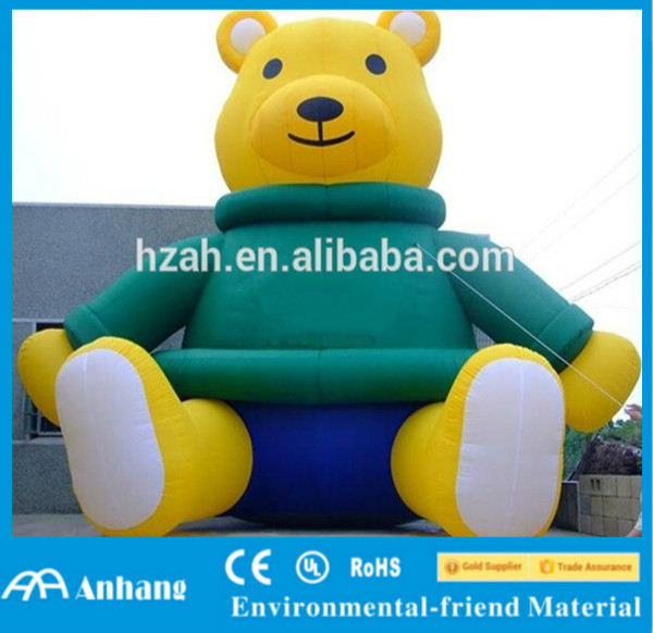 Advertising Christmas Decoration Giant Inflatable Bear