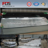 galvanized Corrugated matal steel roof sheet in Shandong with good price per ton