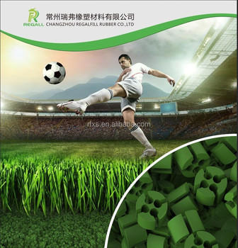 Hollow Cylinder TPE Rubber Infills for Soccer /Football field