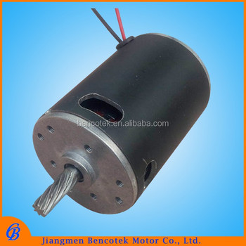 Household appliances permanent magnet DC gear motor