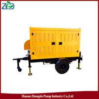 ZHONGDA ZYB Portable self-priming Sewage Pump Truck