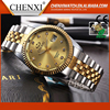 Hot Sell High-end Business Day/Date Gold Watch Diamond Watch For Men