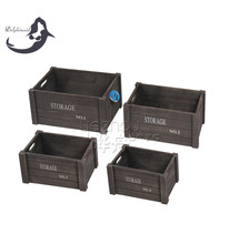 Decorative unfinished small wooden boxes wholesale