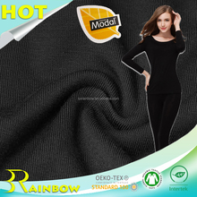 Knitting Single Jersey 40s Lenzing Modal Lycra Four Way Stretch Fabric for Leggings