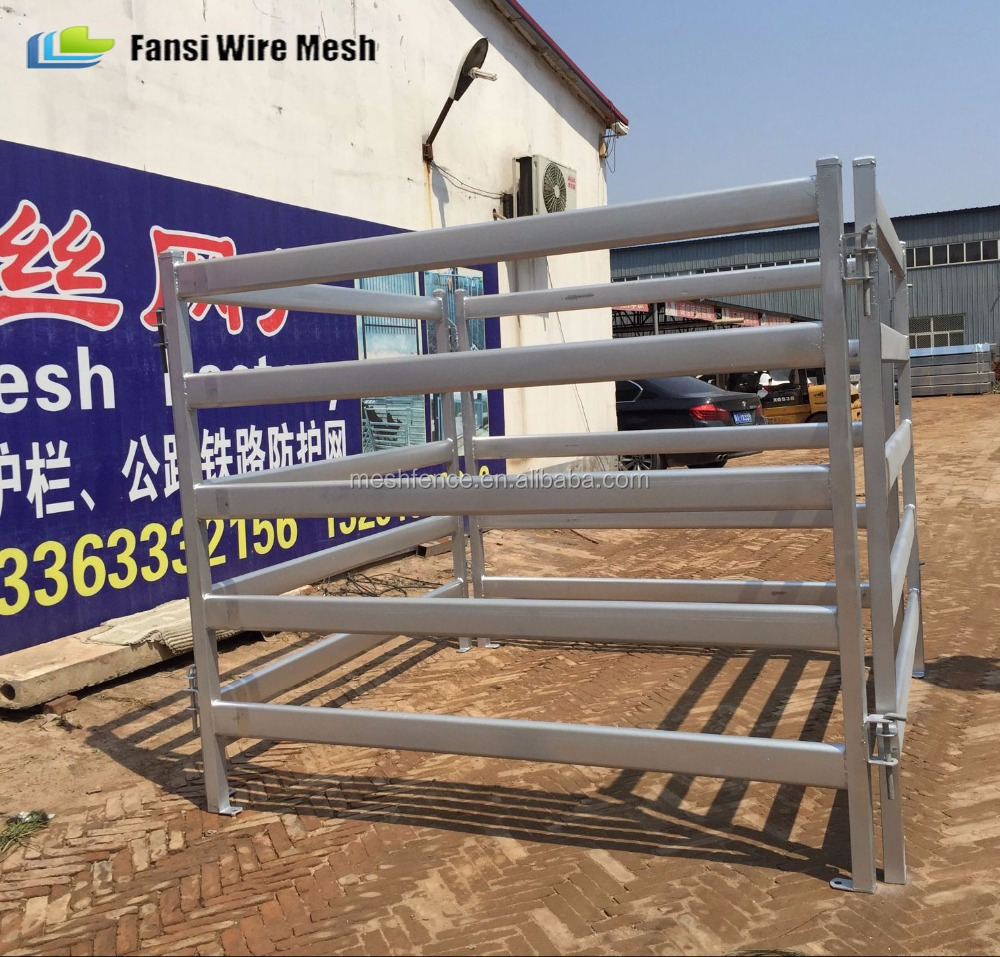 cost effective 12ft heavy duty weld mesh farm rural gates for deers/Ostrich/Emu (China anping leading fatory for australia)