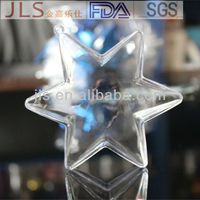 10cm clear plastic star container plastic ball Christmas Decoration Supplies