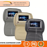 2015 best selling 9 inch/7inch toyota prius headrest dvd player