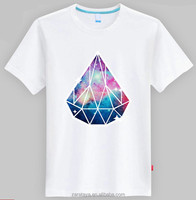Stylish Casual Slim Fit Shirts 100% cotton sky screen printing t shirt tee tshirt design