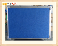 Wholesale office felt pin board notice decoractive with aluminum frame covered with fabric and 2mm cork sheet