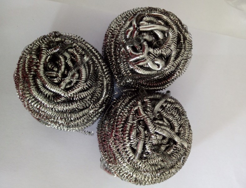 Bulk Packing Stainless Steel 410/430 Scourer/Scrubber/Cleaning Ball